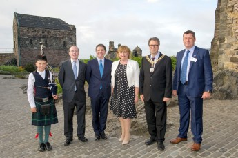 Irish Business Network Scotland event at Edinburgh Castle - - picture by Donald MacLeod - 09.06.16 - 07702 319 738 - clanmacleod@btinternet.com - www.donald-macleod.com